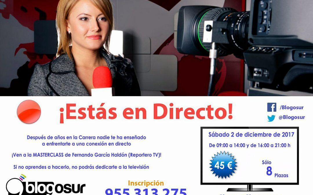 MasterClass Reportero en Televisión