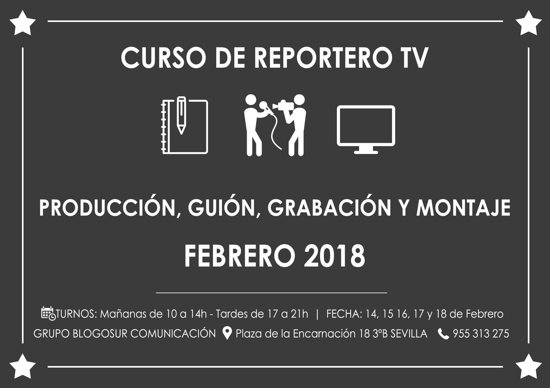 curso reportero tv febrero 2018 blogosur